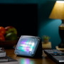 TV Sim switched on accurately mimics the light output of a real HDTV television