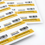 Immobilise Barcoded Security Warning Labels (20 Pack)