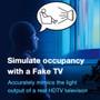 TV Sim Burglar Deterrent