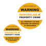 Immobilise window stickers