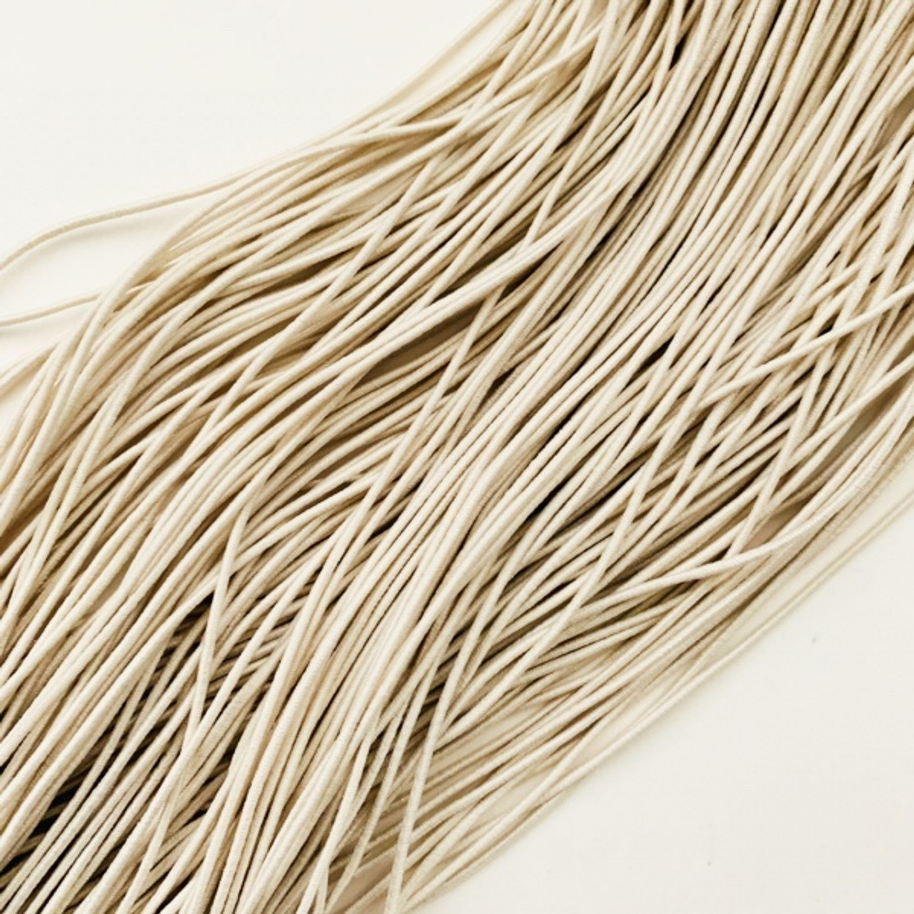Elastic Cord 1 5 Mm In Oatmeal By The Yard