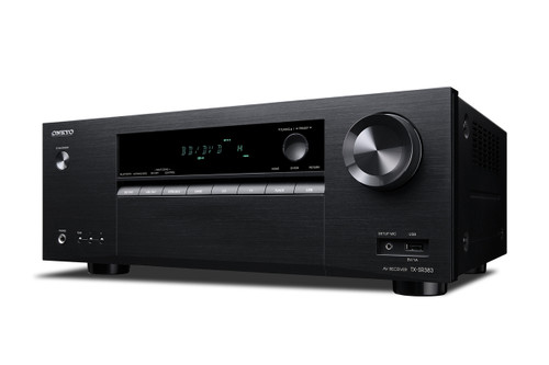 Onkyo TX-SR383 7.2-Channel Network A/V Receiver