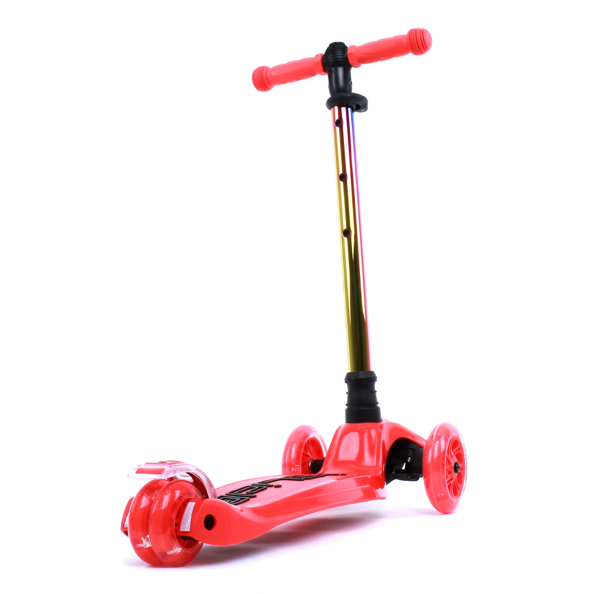 Kids 3-wheel Scooter | Red | Neochrome bar