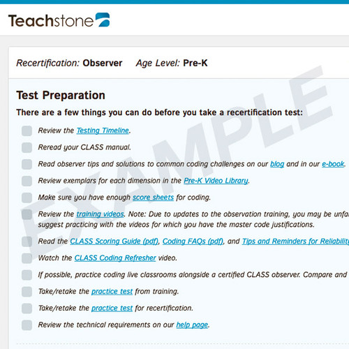 Prepare for the test with included videos, documents, and practice opportunities.