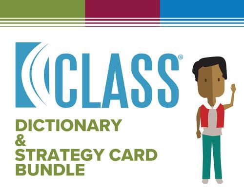 CLASS Dictionary/CLASS Strategy Cards Bundle