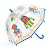 Transparent Robots Children's Umbrella