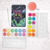 Chroma Blends Watercolor Paint Set - Neon