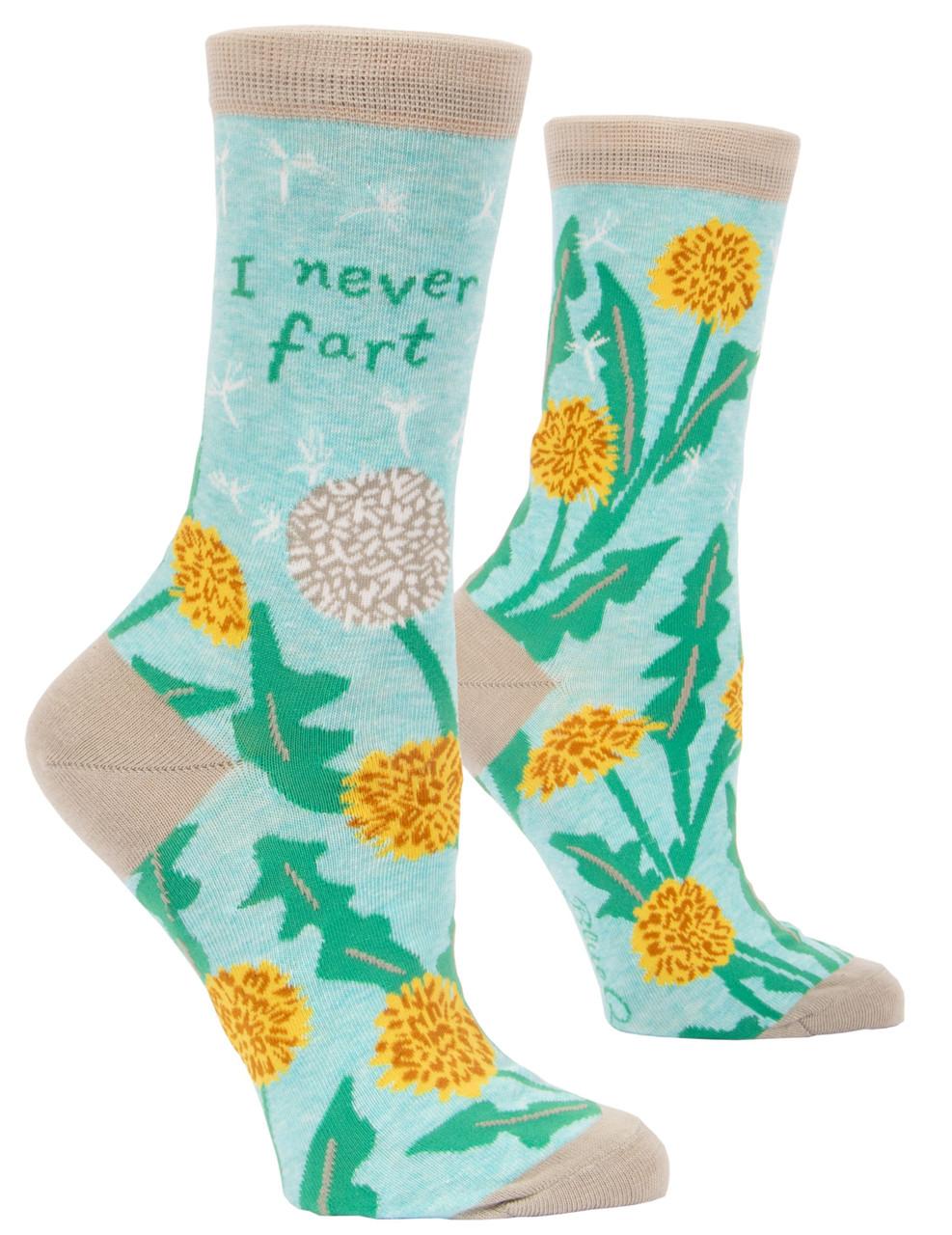 I NEVER FART - Women's Crew Socks