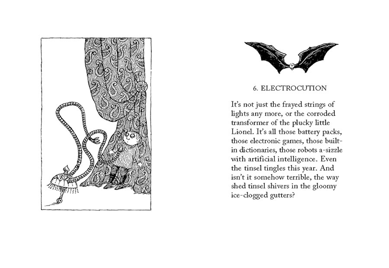 Twelve Terrors of Christmas by John Updike & Edward Gorey