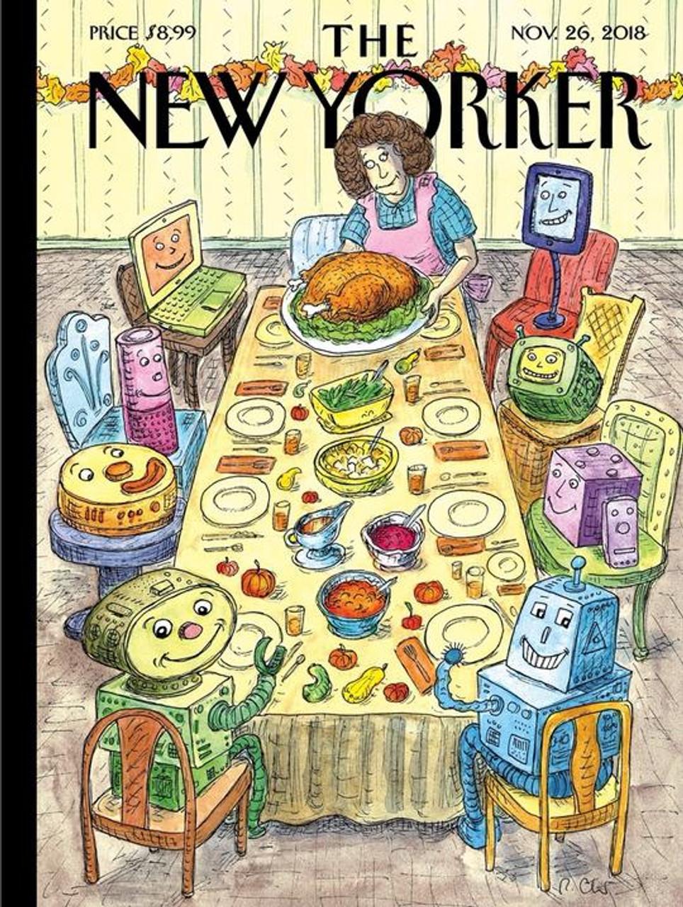 Thankfulness - 1000 pieces - New Yorker