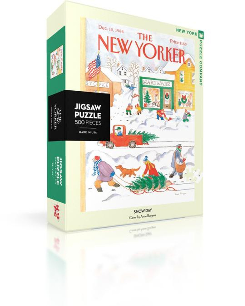 Snow Day - 500 pieces - New Yorker