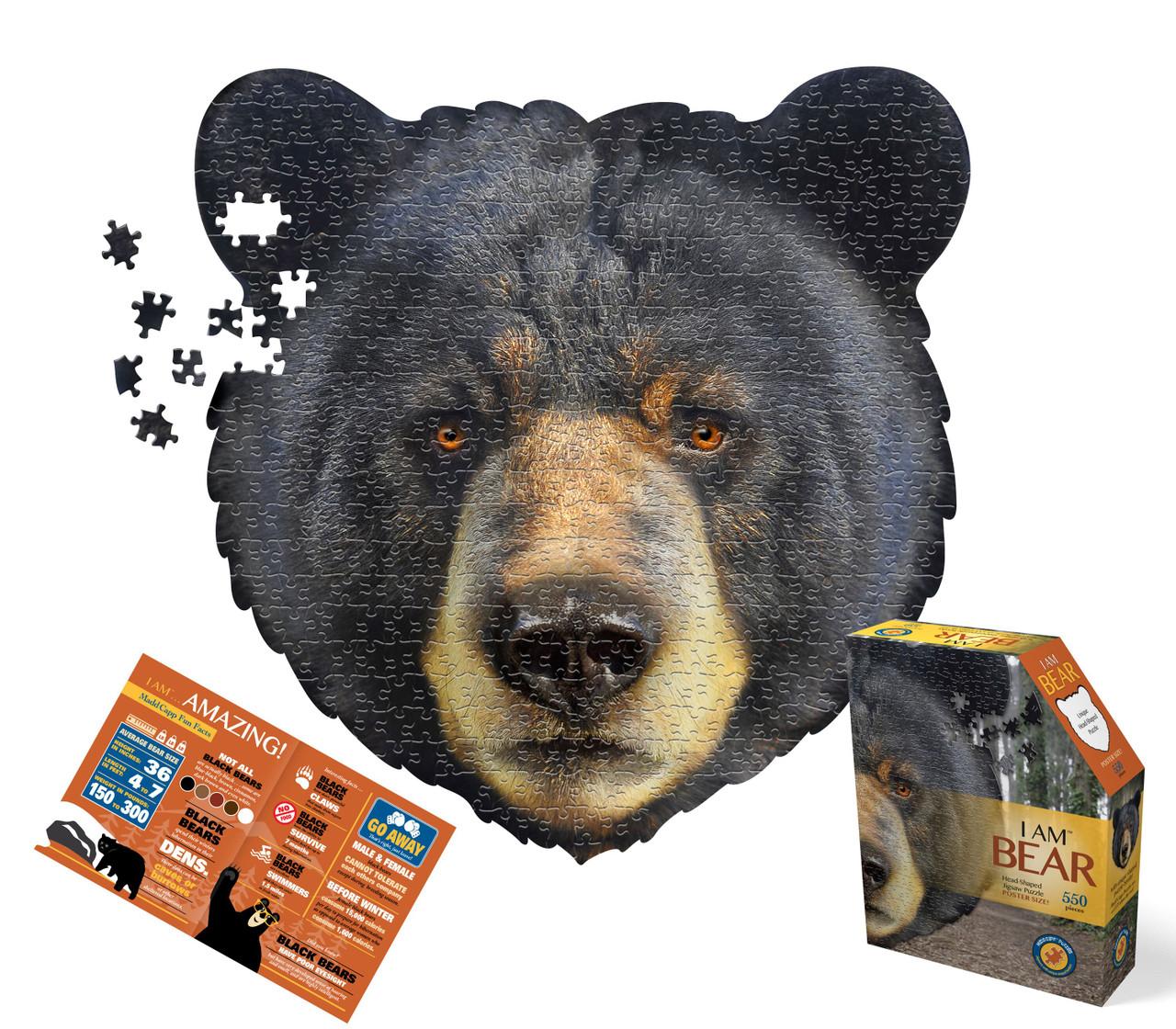 """""""I AM BEAR"""" - 586 pc"""