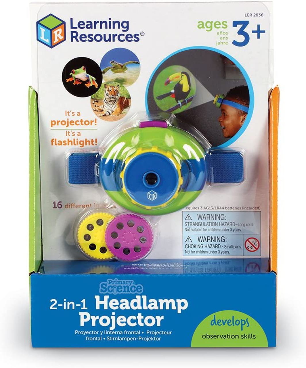 2-in-1 Headlamp Projector