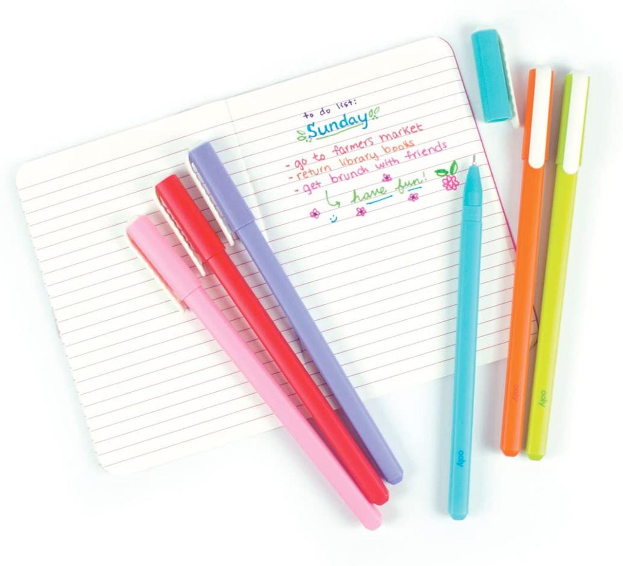 Modern Writers Gel Pens, Set of 6
