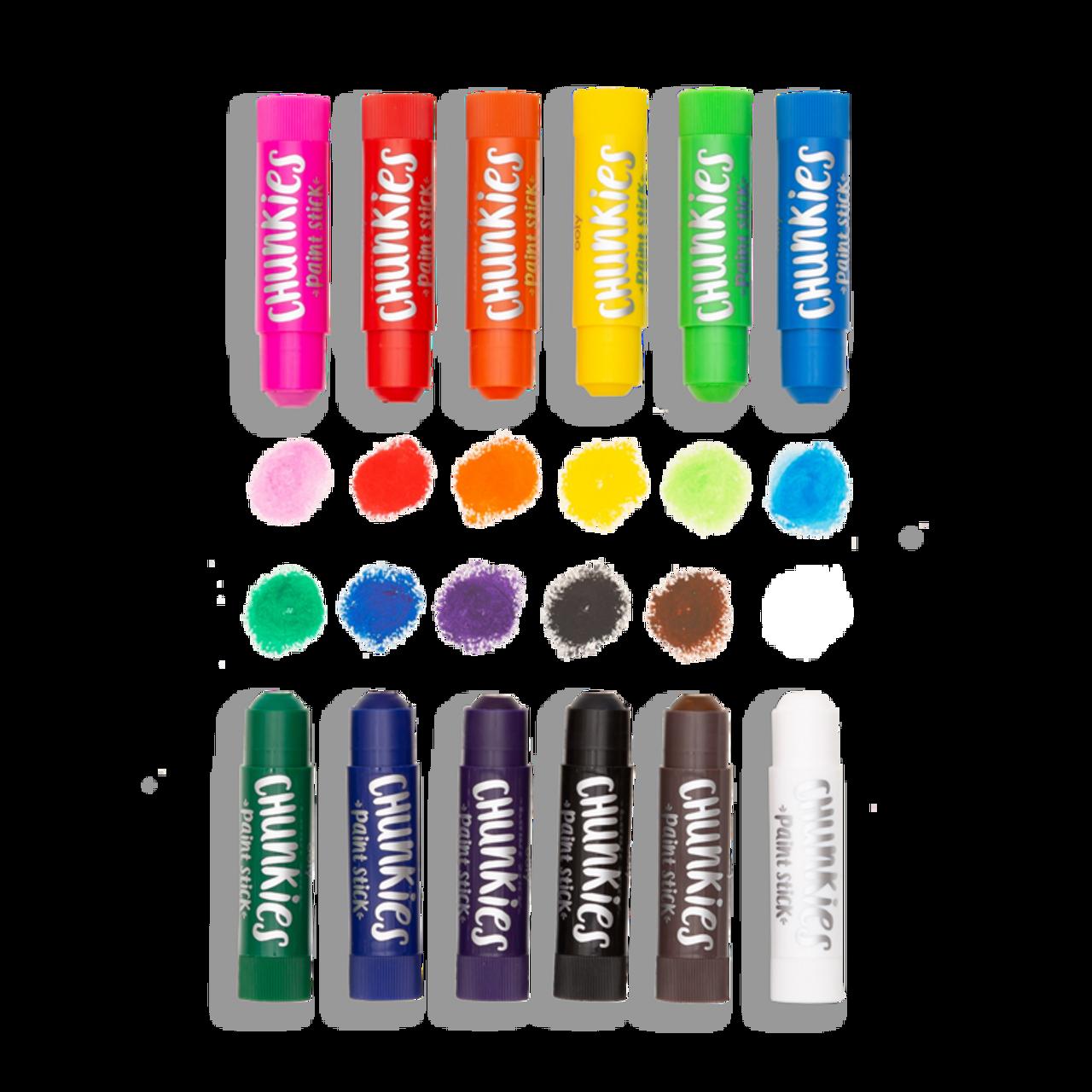 Chunkies Paint Sticks - Set of 12