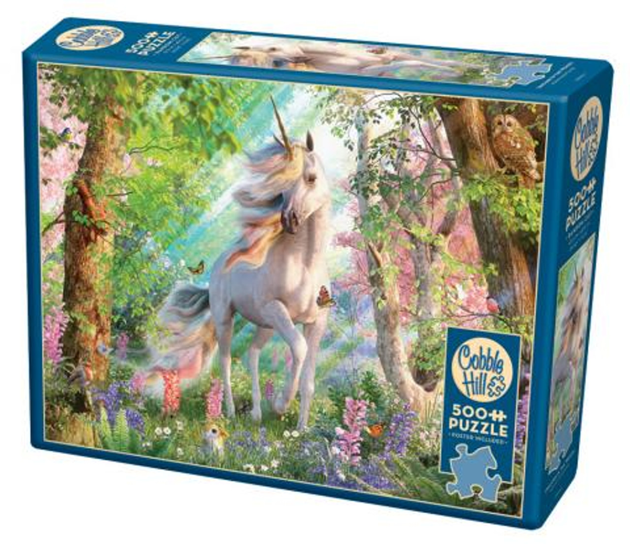Unicorn in the Woods - 500 pieces