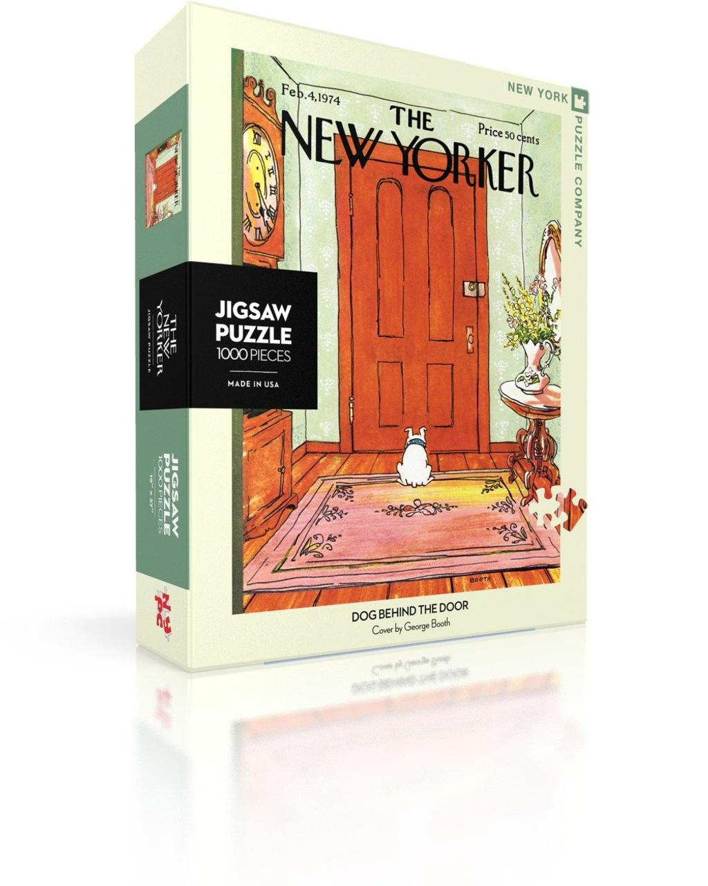 DOG BEHIND THE DOOR- 1000 Pcs - New Yorker