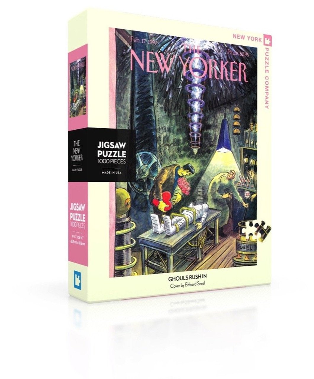 GHOULS RUSH IN- 1000 Pcs - New Yorker