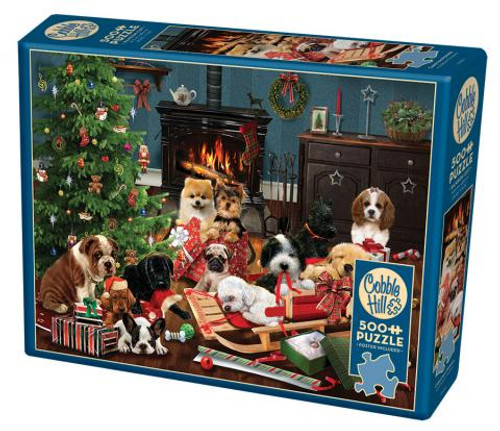 Christmas Puppies - 500 pieces