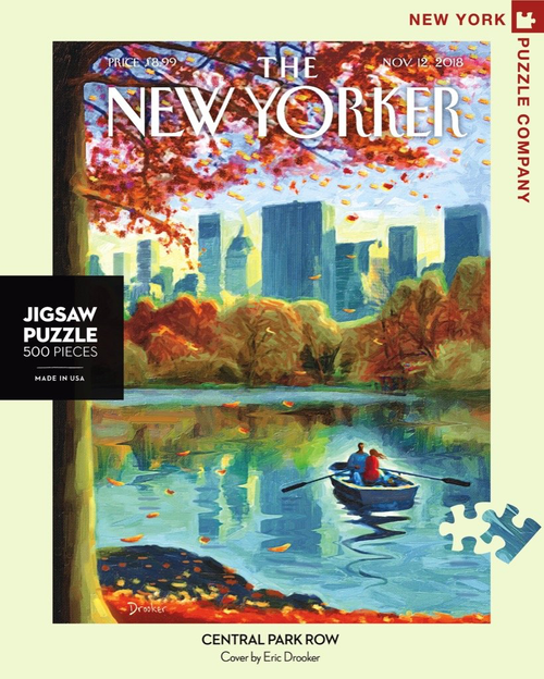 Central Park Row - 500 Pieces - New Yorker