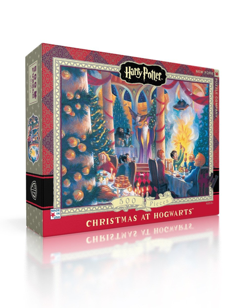 Christmas at Hogwarts  - 500 Pieces - Harry Potter