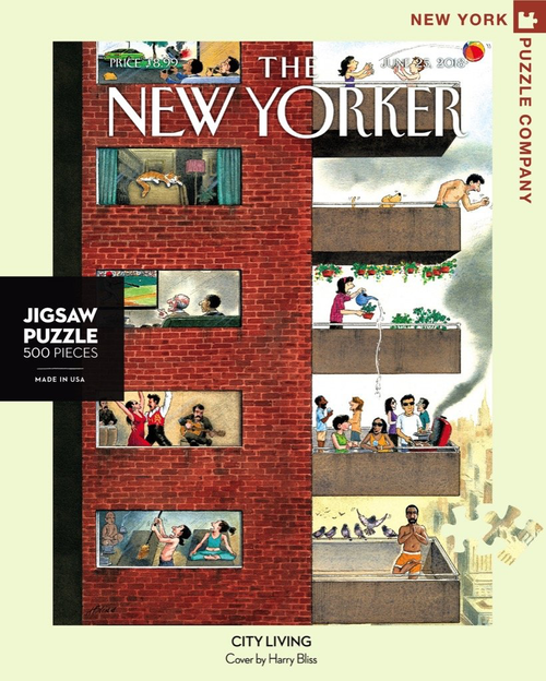 City Living  - 500 Pieces - New Yorker