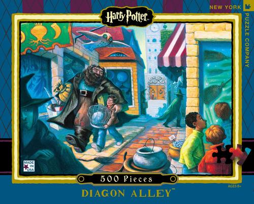 Diagon Alley  - 500 Pieces - Harry Potter