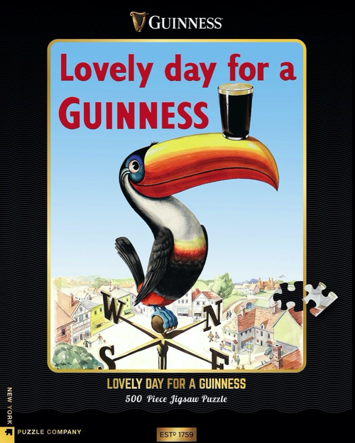 Lovely Day for a Guinness  - 500 Pieces