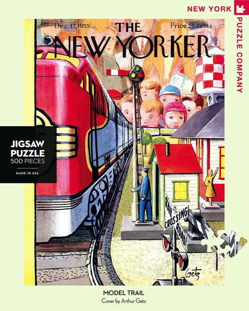Model Train  - 500 Pieces - New Yorker