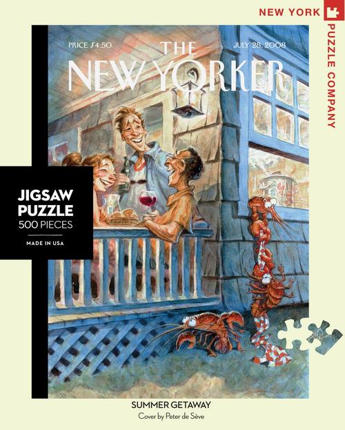 Summer Getaway  - 500 Pieces - New Yorker