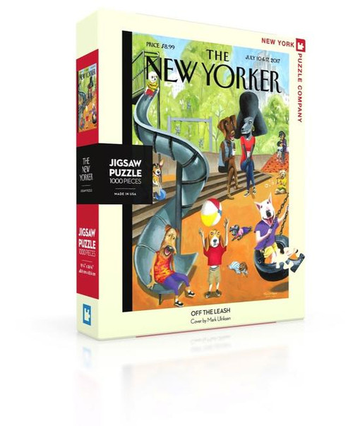Off the Leash - 1000 pieces - New Yorker