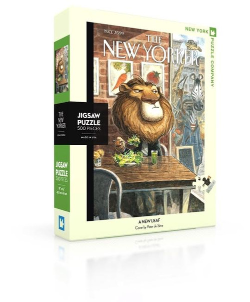 A New Leaf - 500 pieces - New Yorker
