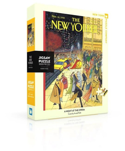 A Night at the Opera - 1000 pieces - New Yorker