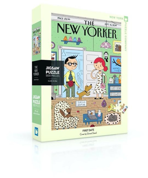 First Date - 500 pieces - New Yorker