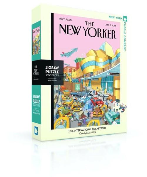 J.F.K. International Rocketport - 1000 pieces - New Yorker