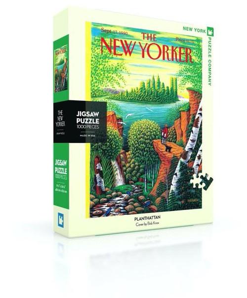 Planthattan - 1000 pieces -New Yorker