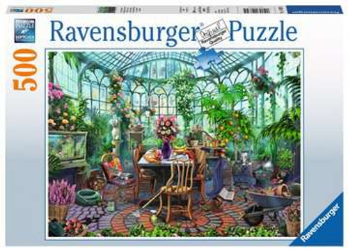 Greenhouse Mornings - 500 pieces