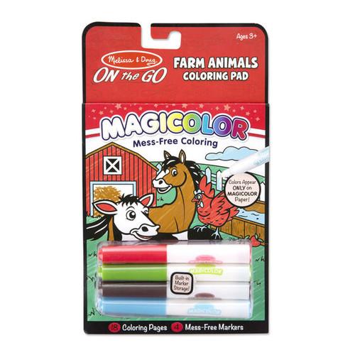 Coloring Farm Animals Pad