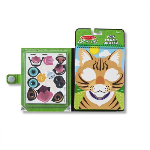 Make-a-Face Sticker Pad - Pets