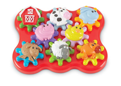 Barnyard Friends Build and Spin