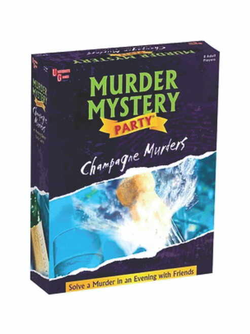 Murder Mystery Party - The Champagne Murder