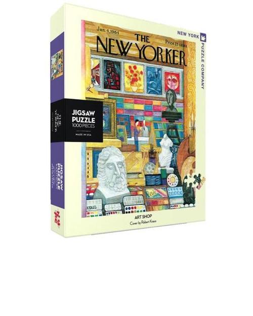 ART SHOP - 1000 pieces - New Yorker