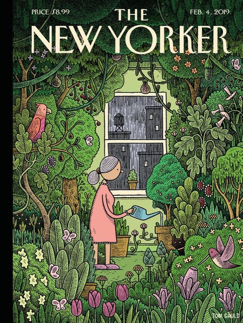 WINTER GARDEN - 500 pieces - New Yorker