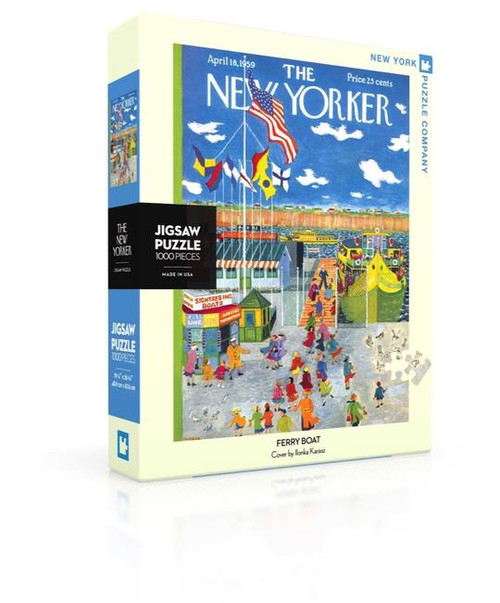 FERRY BOAT - 1000 pieces - New Yorker