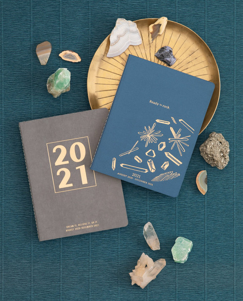 """SMALL SIMPLE SUEDE CLOTH PLANNER 