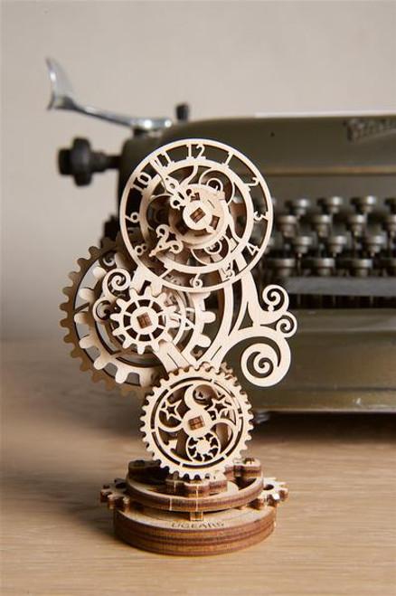 UGEARS Steampunk Clock