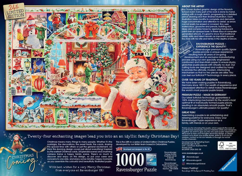CHRISTMAS IS COMING! Limited Edition 2020 - 1000pc