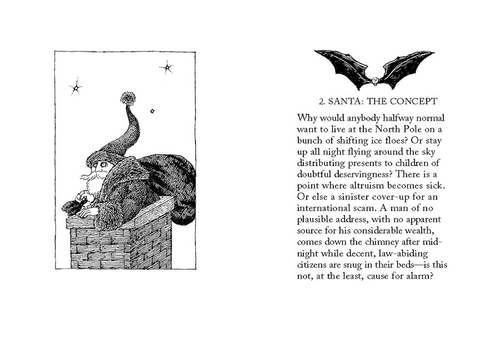 Twelve Terrors of Christmas by John Updike & Edward Gorey