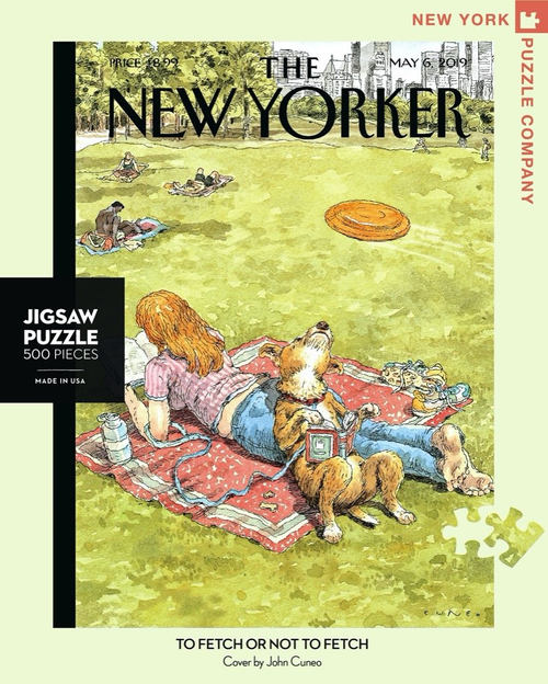 TO FETCH OR NOT TO FETCH - 500 Pcs - New Yorker