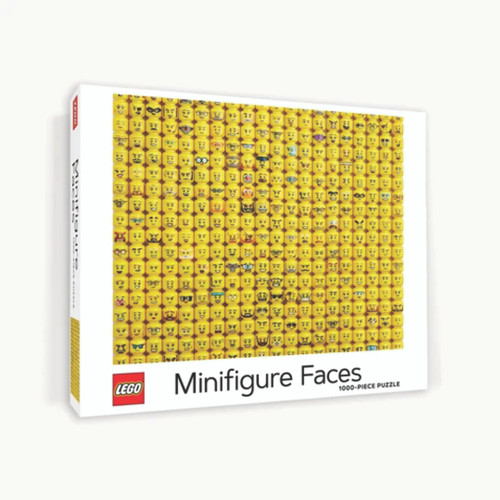 LEGO MINIFIGURE FACES- 1000 pc - Chronicle